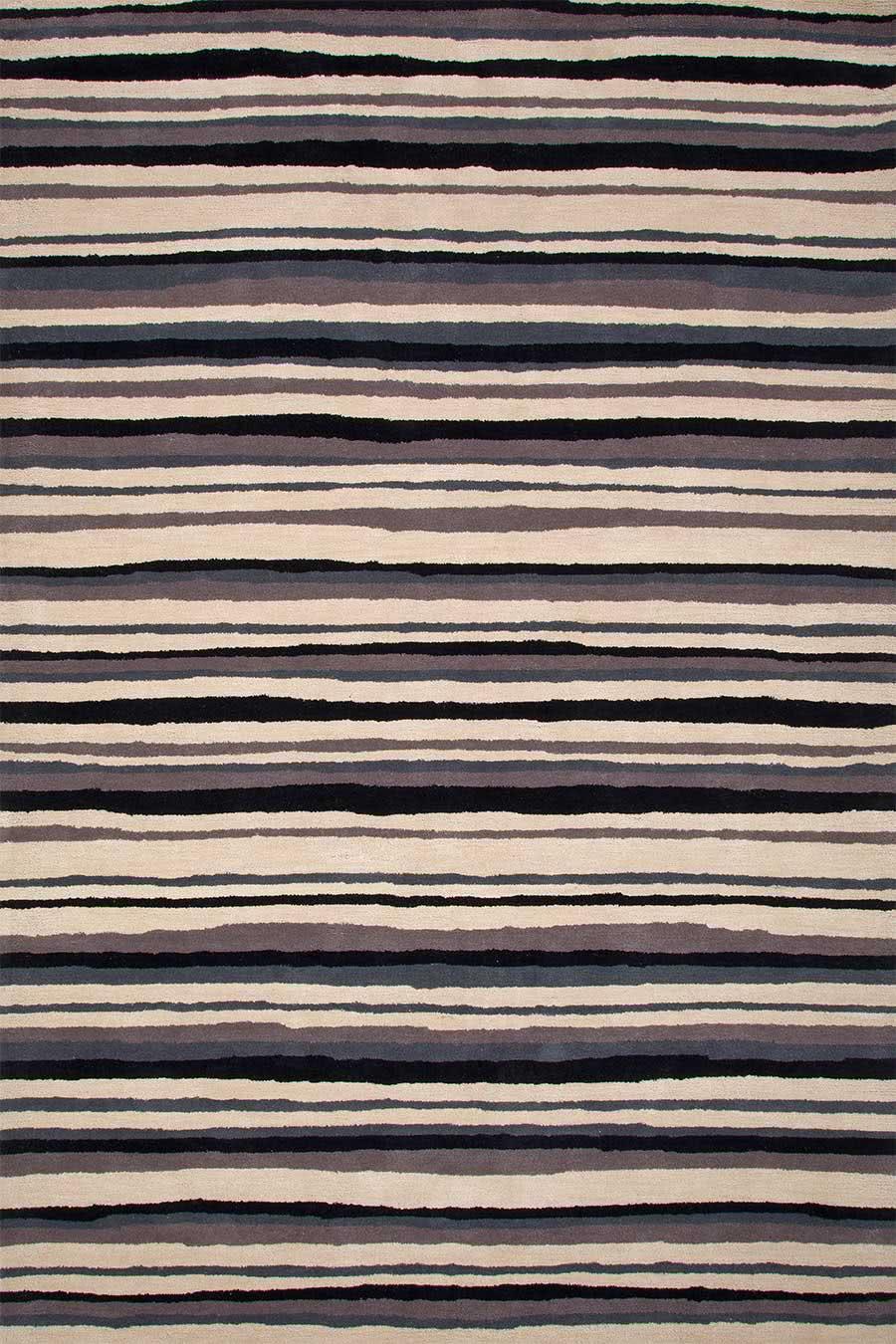 Boston Stripe in Silver colourway overhead image