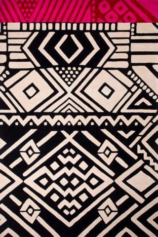 Desert Lines in black colour overhead image