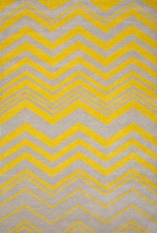 Harlem rug in Sunshine colourway overhead image