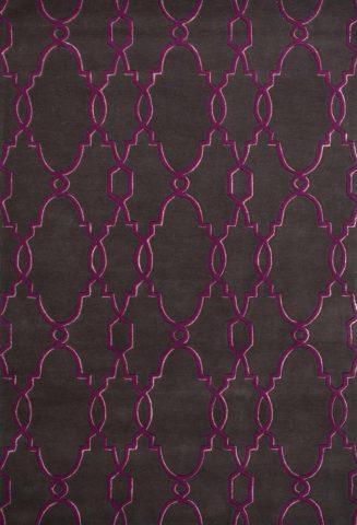 Samsun Lythrum rug overhead image