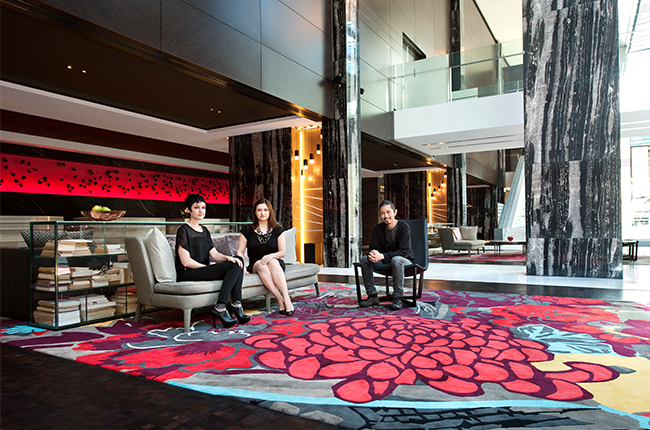 We don't see ourselves as just a rug company; we see ourselves as a design company that makes rugs.