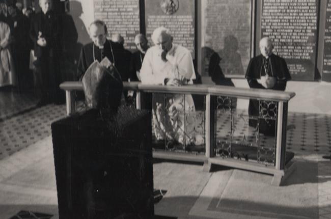 Pope John Paul II's visit to Australia in 1986