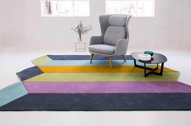 Prism rug design by Gavin Harris