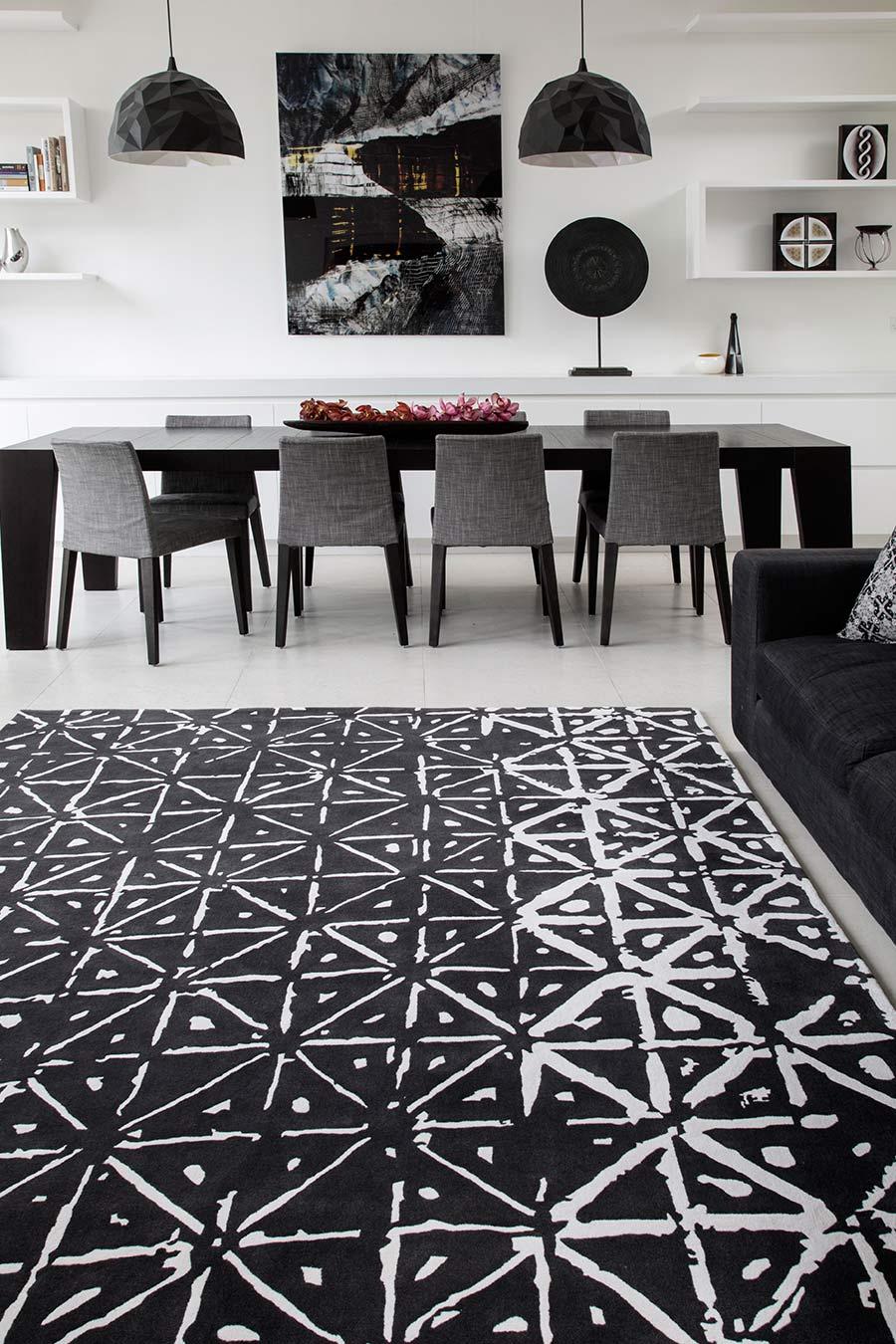 Batik rug by Akira Isogawa