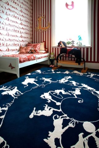 Circus Silhouettes rug by Catherine Martin x Designer Rugs