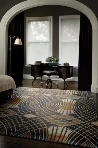 Westchester handknotted rug by Catherine Martin