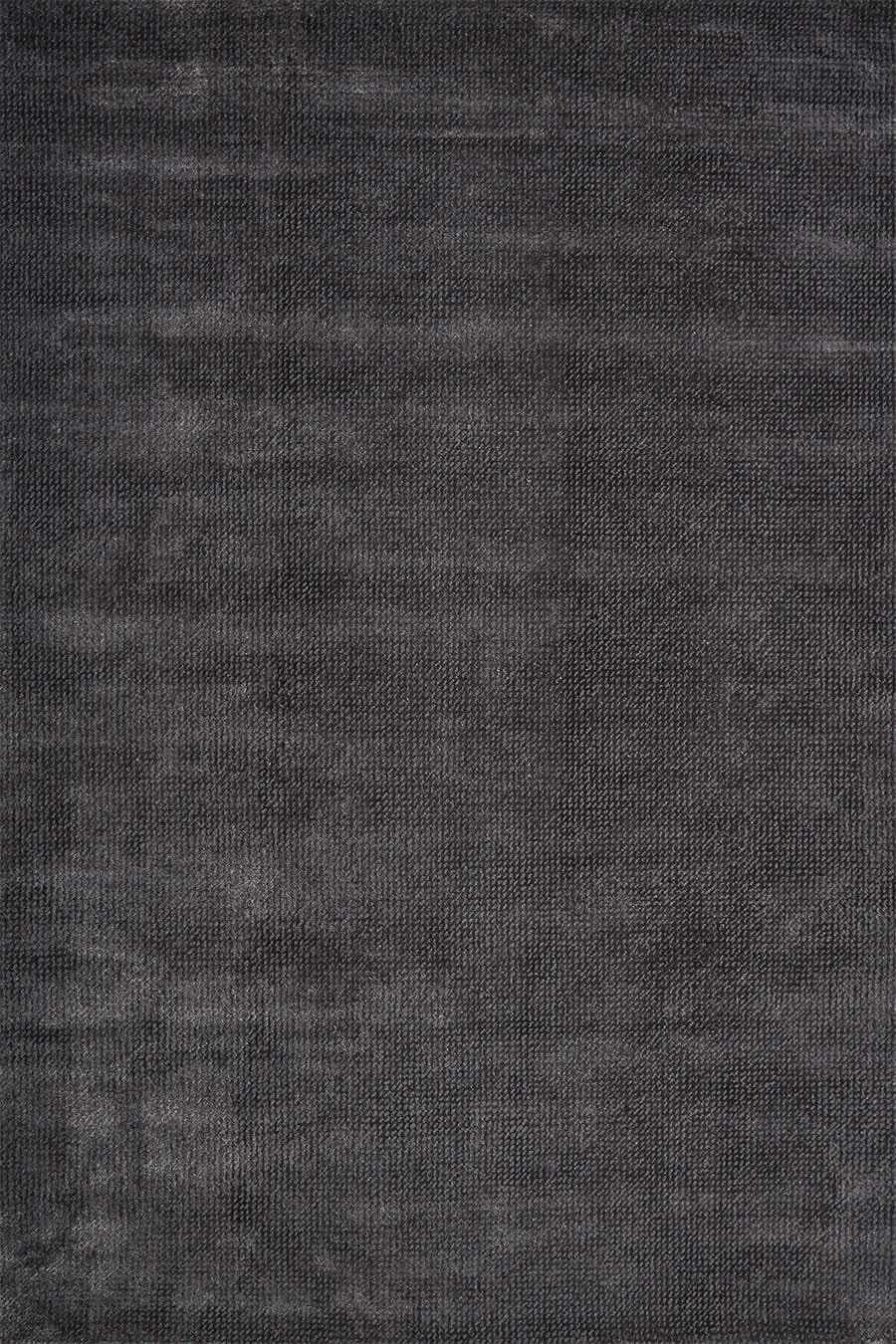 Overhead view of textured Nickel rug in charcoal colour