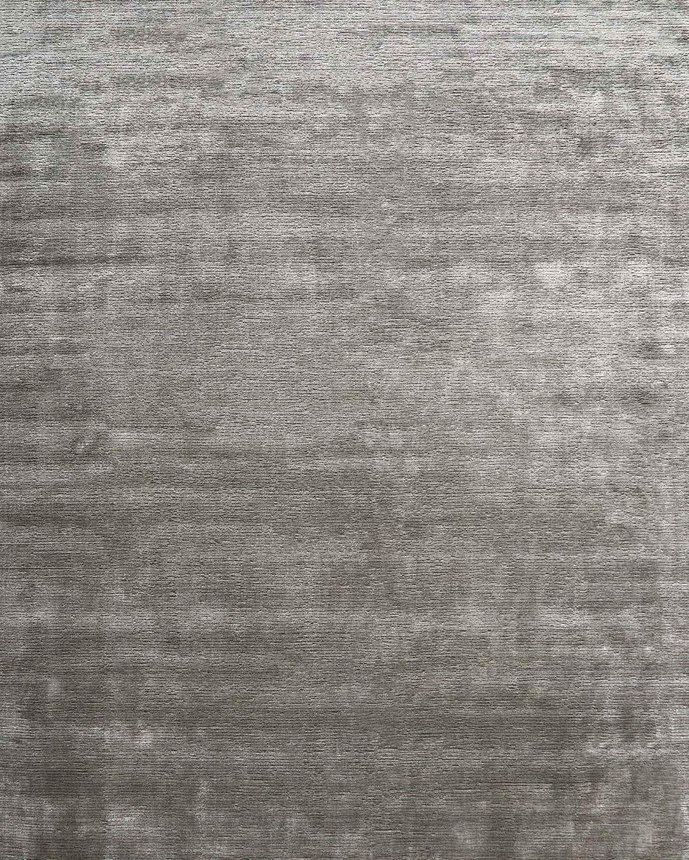 Overhead view of Safari rug in silver mix colour