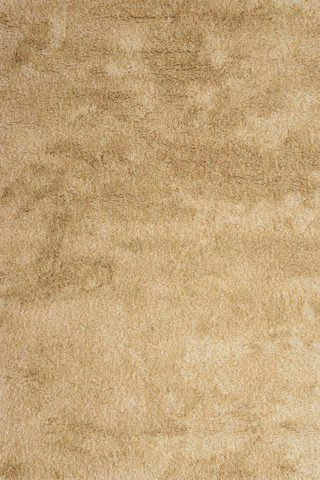 Overhead view of textured Stipple Shag rug in beige colour